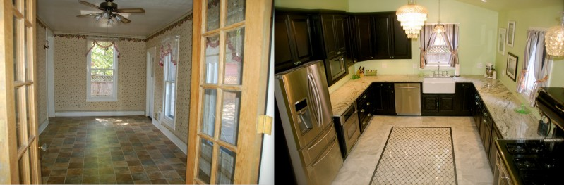 Kitchen Before and After 2