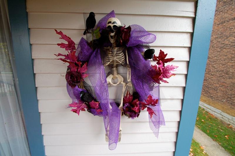 Halloween Wreath19