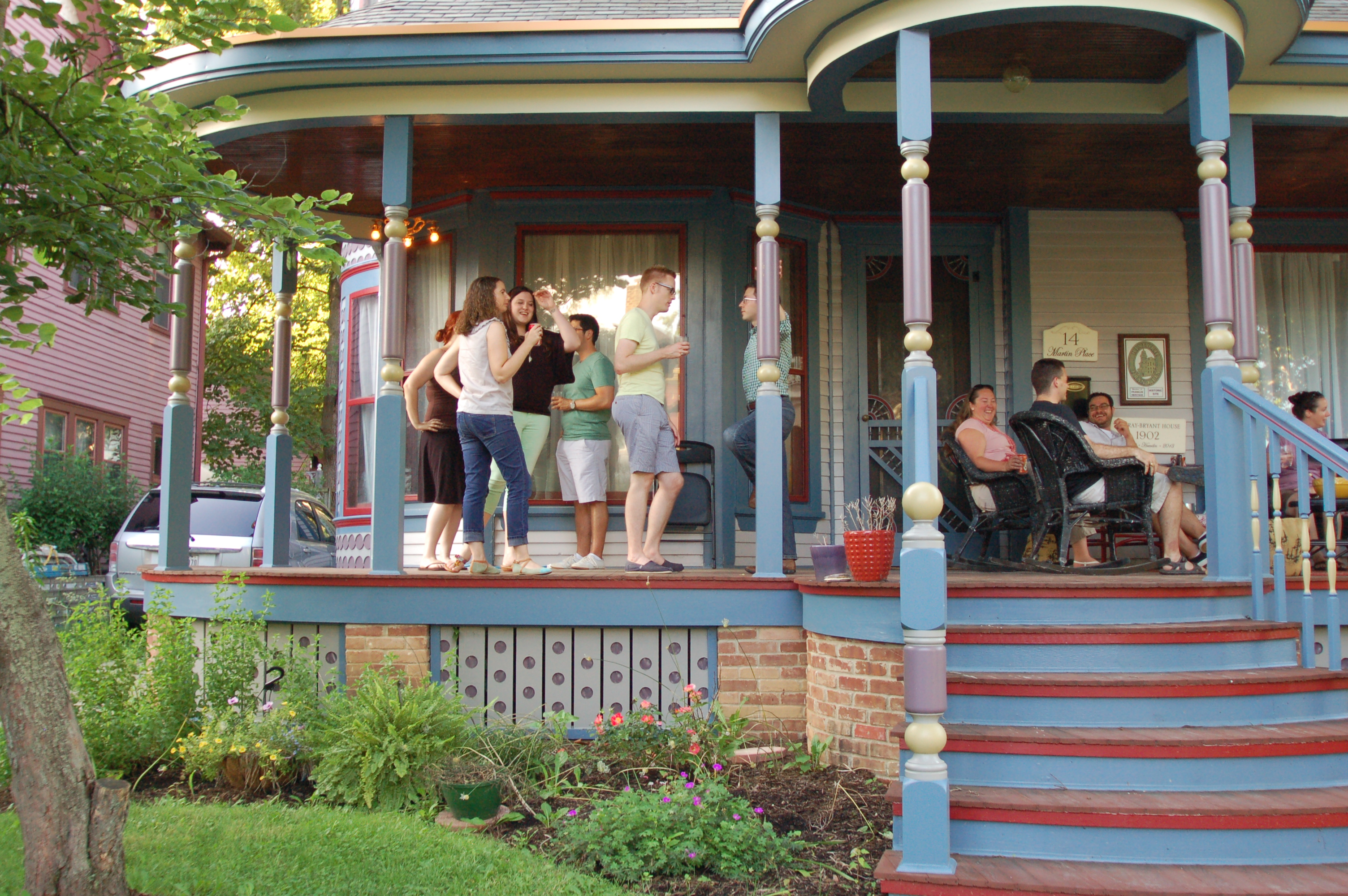Porch Party An Atypical Post Vivacious Victorian