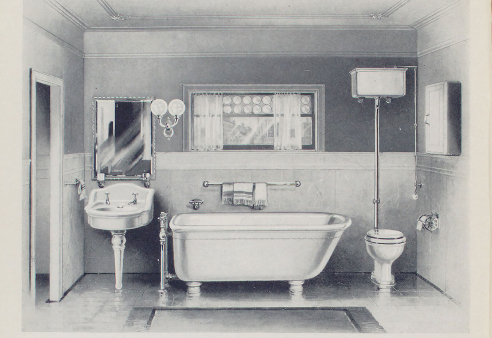 My love affair with bathrooms part one an introduction for Bathroom ideas 1920s home