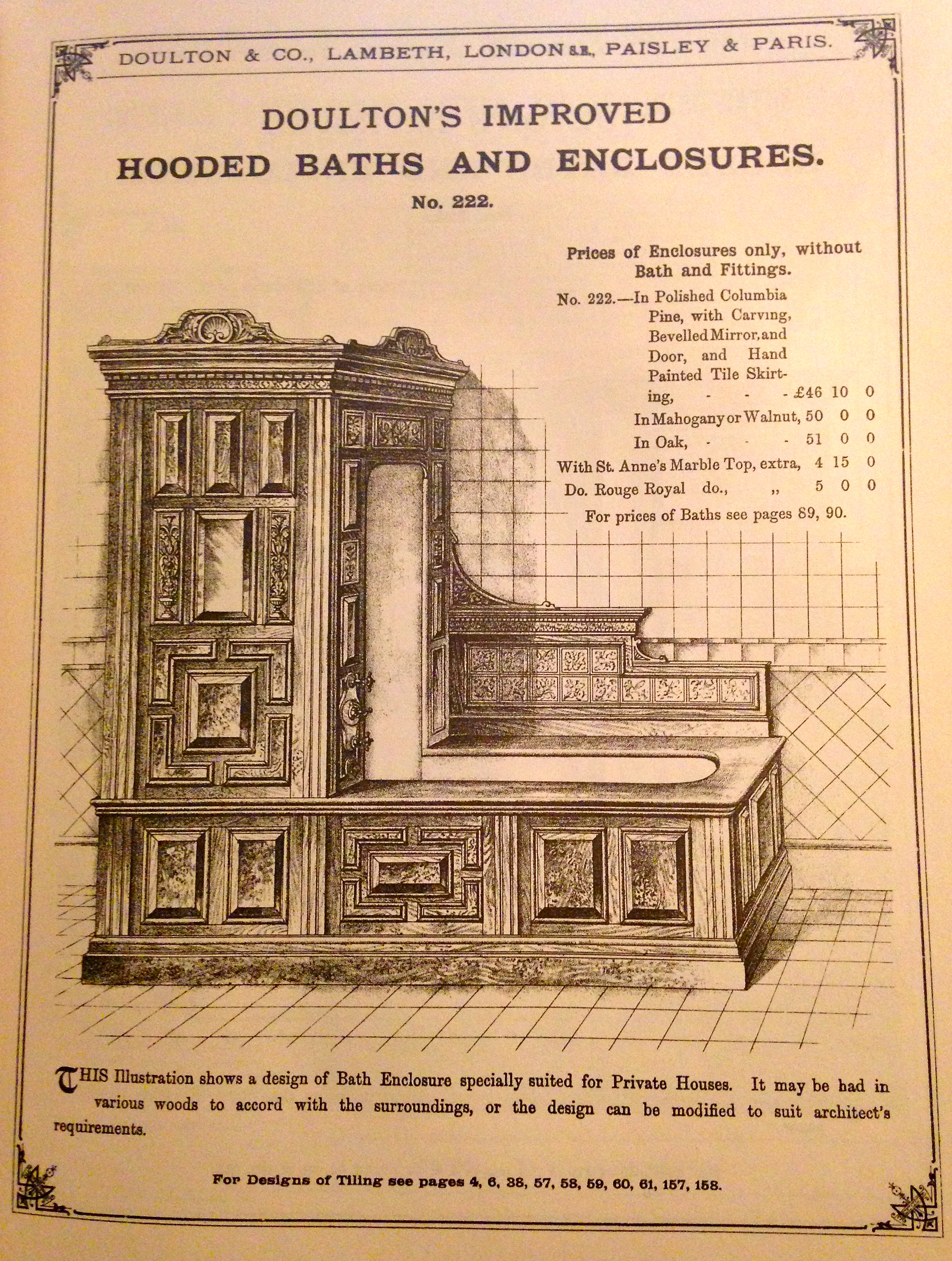 Victorian Bathrooms : A History Lesson – Vivacious Victorian
