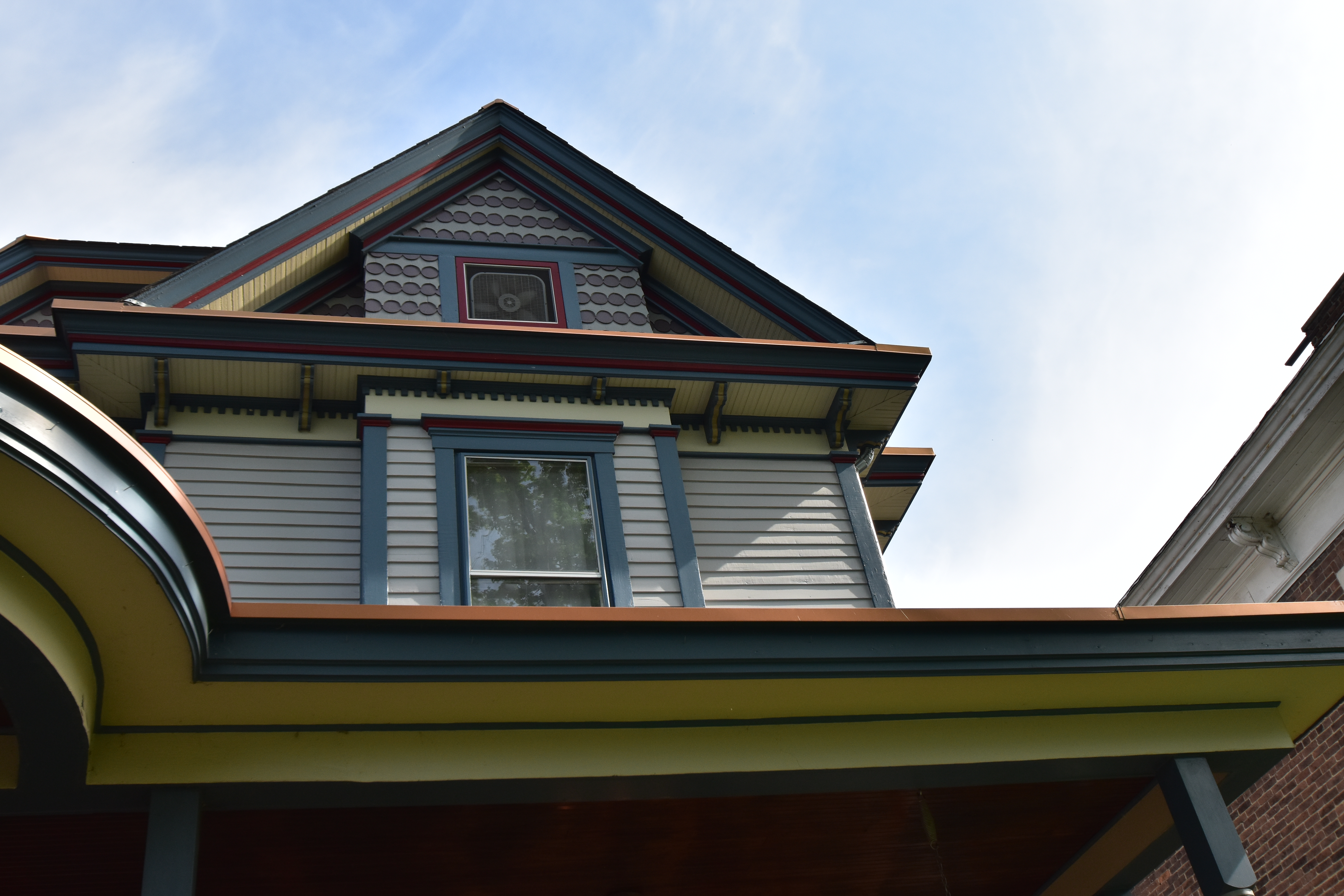 52 weeks of home project week 19 exterior trim vivacious victorian